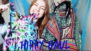 HIPPY HAUL (Try-On): Vintage Finds, Mod Sun Merch, & Too Much Tie Dye | MEGHAN HUGHES