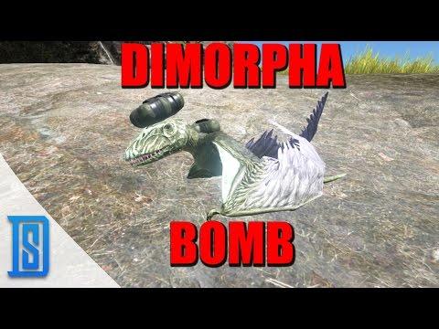 Ark: Survival Evolved-CRAZY RAID TACTIC/DIMORPHA-BOMB!