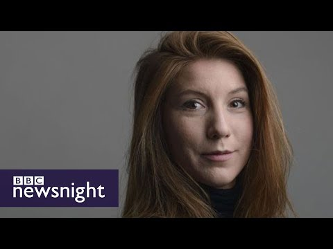 Denmark gripped by submarine mystery - BBC Newsnight