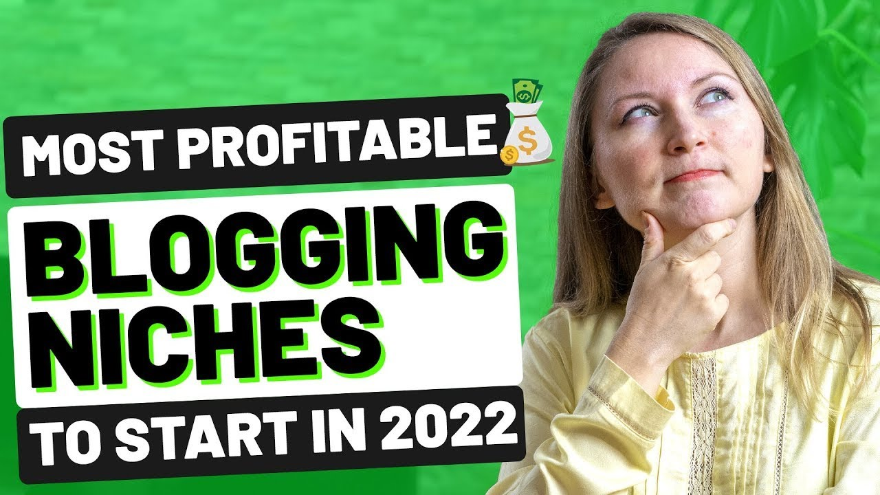 8 MOST PROFITABLE BLOG NICHES TO START IN 2021 - HOW TO MAKE MONEY BLOGGING FOR BEGINNERS