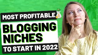 8 MOST PROFITABLE BLOG NICHES TO START IN 2020 - HOW TO MAKE MONEY BLOGGING FOR BEGINNERS