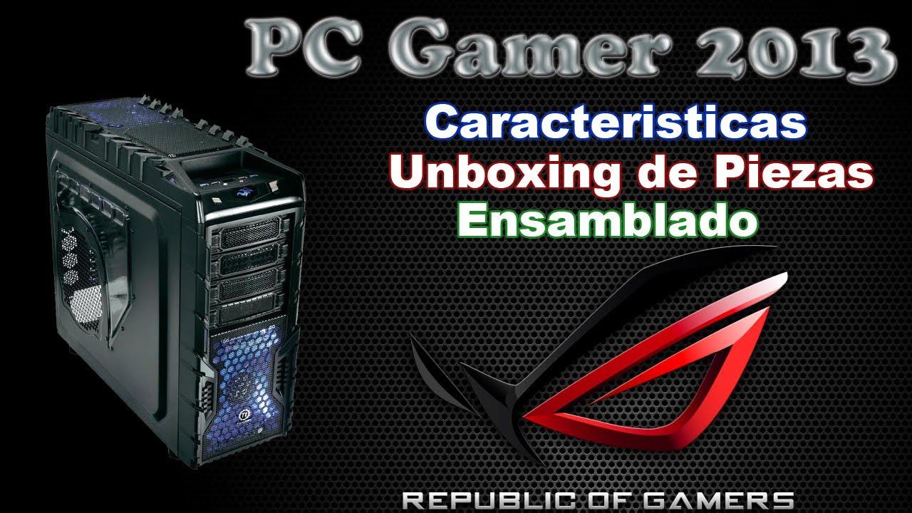 Como armar o montar un PC Gamer Desde Cero | Tutorial en Español | 1° Componentes Gaming