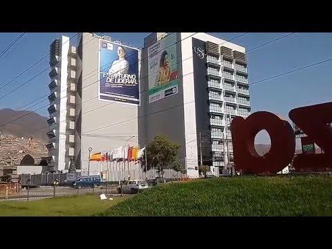 UNIVERSIDAD SAN IGNACIO DE LOYOLA (USIL), Sede Lima Norte. Vista Exterior (Distrito Independencia)
