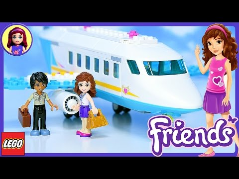 Lego Friends Heartlake Private Jet Build Review Silly Play - Kids Toys