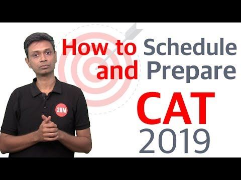 CAT 2019 Preparation Plan & Strategy From February