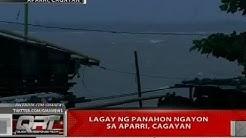 Lagay ng panahon ngayong sa Aparri, Cagayan