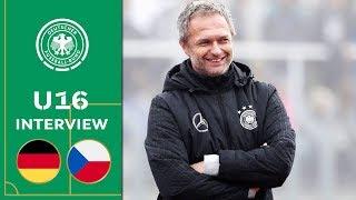 Christian Wück zum Sieg gegen Tschechien