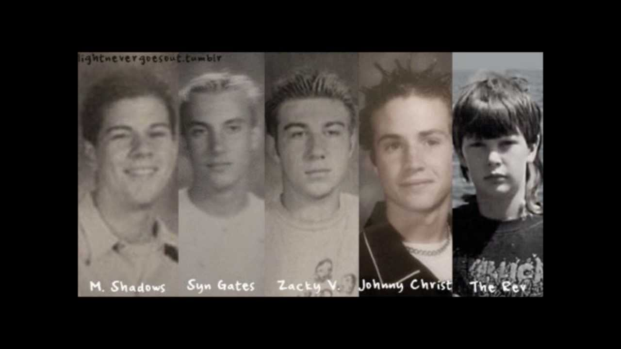 avenged sevenfold young youtube