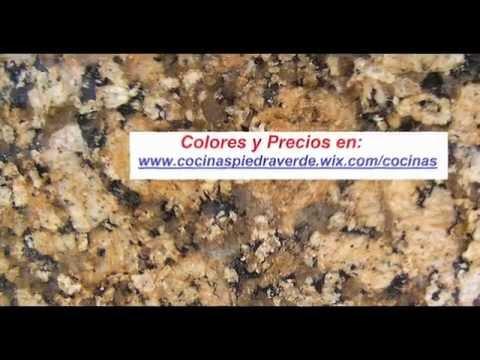Colores de Mármol y Granito