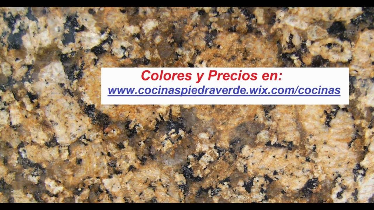 Colores de m rmol y granito youtube for Colores de granito verde
