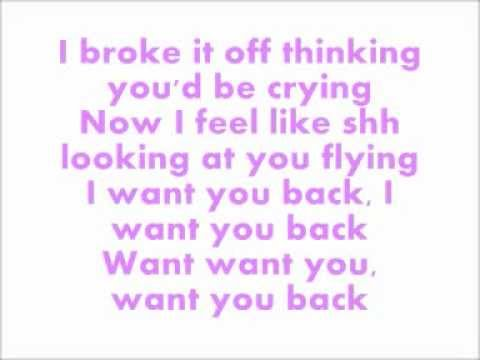 Cher Lloyd - Want U Back - Lyrics
