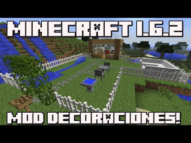 Minecraft 1.6.2 MOD DECORACIÓN! Mrcrayfish Furniture Mod! Videos De Viajes