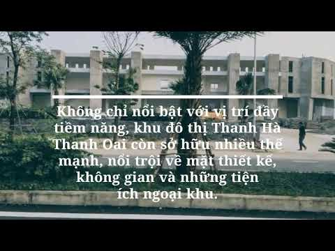 Tiềm năng vị trí khu đô thị Thanh Hà Thanh Oai Hà Nội