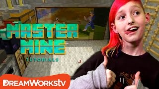 how to build a secret lair in minecraft with millie from game kids   master mine tutorials