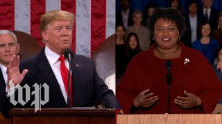 Watch President Trump's full State of the Union address and the Democratic response