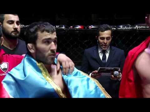 Sabuhi GULIYEV (AZERBAYCAN) & İbrahim Aslan SEZER (TÜRKİYE) (PRO WMMAF BELT CHAMPIONSHIP) 2017
