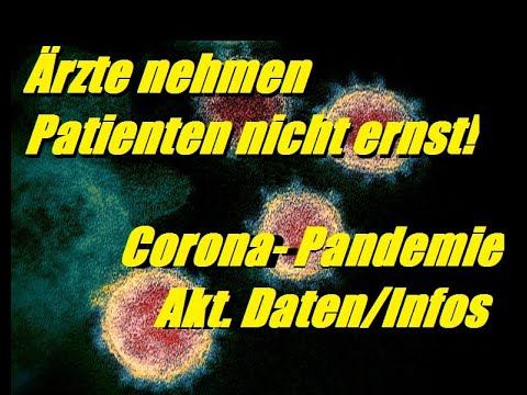 Coronavirus - Ärzte versagen! - Akt. Daten/Infos