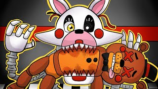 Mangle EATS Toy Freddy! | Minecraft FNAF Roleplay