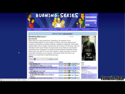Gratis BREAKING BAD anschauen (und andere Serien) | Burning Series Tutorial #02