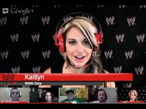 WrestleMania XXIX WWE Google Hangout -Friday session