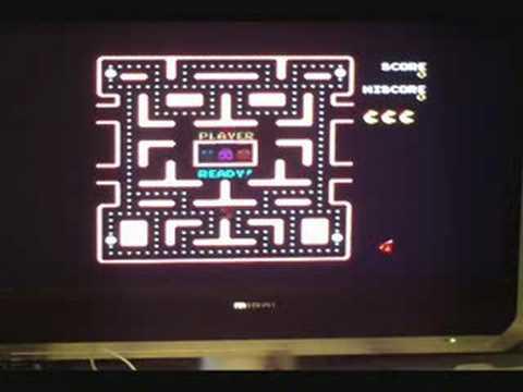 Namco Ms Pacman Arcade Classics 5 In 1 TV Joystick
