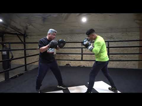 Boom! Mikey Garcia On The Mitts With Robert Garcia EsNews Boxing