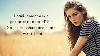 Birdy - Fast Car / Lyrics