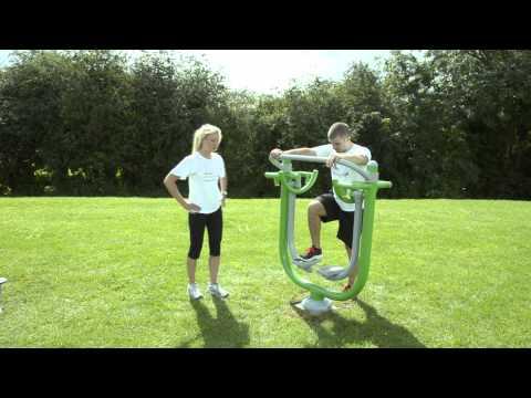 Outdoor Gym Equipment - FLZ Space Walker