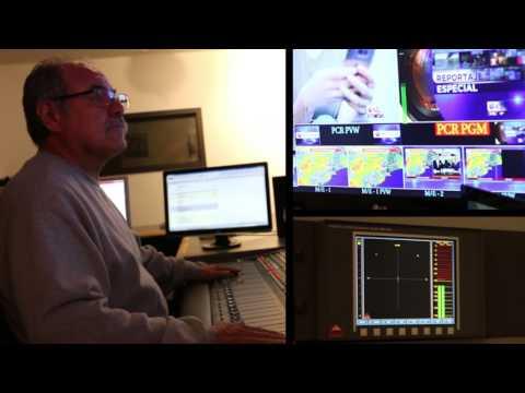 Univision Houston News Live Audio Production