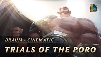Braum: Trials of the Poro | New Champion Teaser - League of Legends