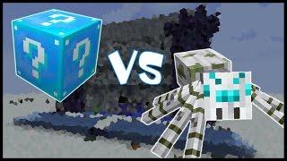 Ледяной Лаки Блок VS Снежный Паук! - Лаки Битва #11
