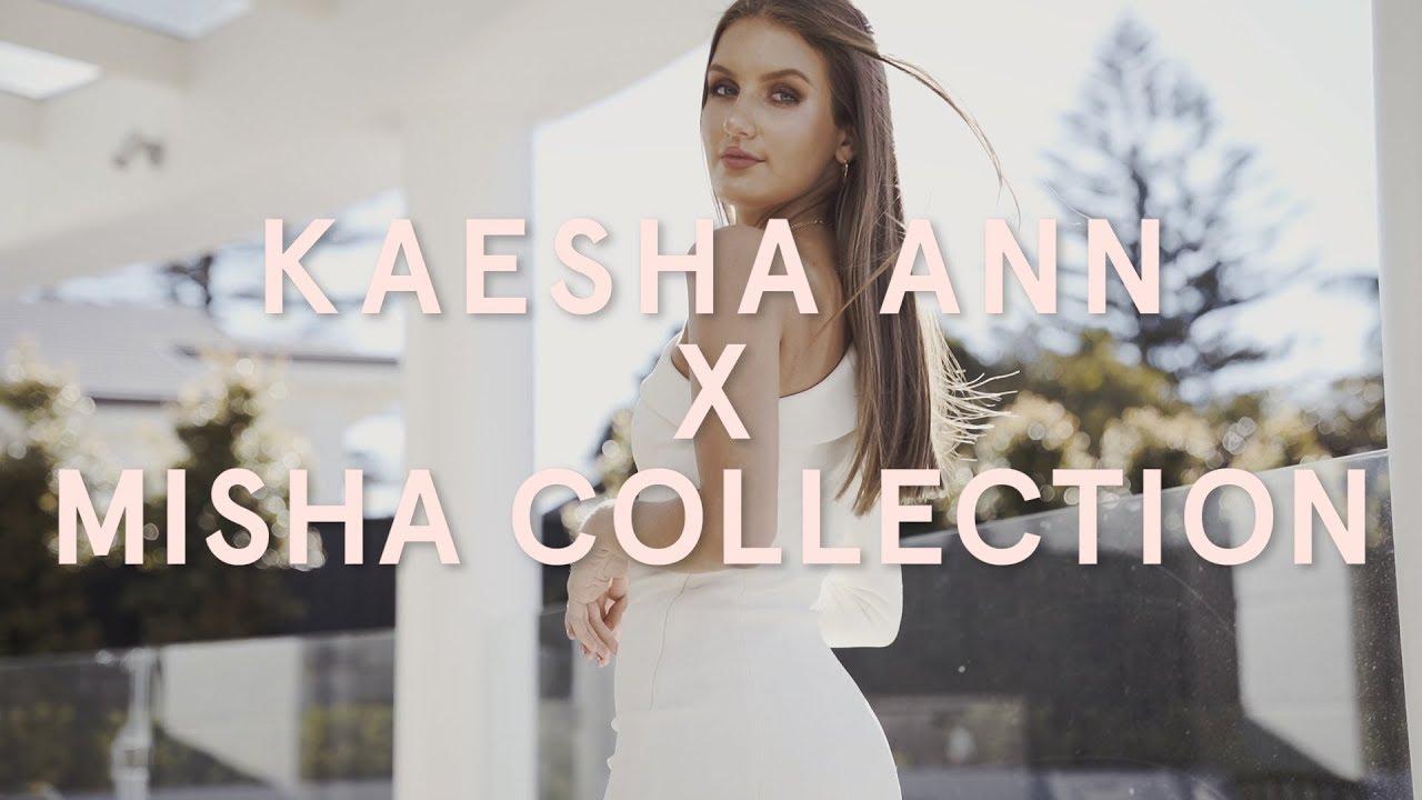 4efec1d8aec2 KAESHA ANN X MISHA COLLECTION - YouTube