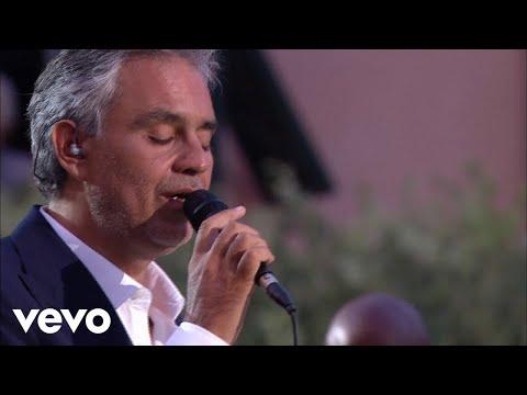 Andrea Bocelli  Il Nostro Incontro   From Italy  2012 ft Chris Botti