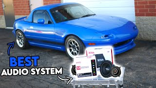 homepage tile video photo for This is The BEST Audio System For a MIATA!!!