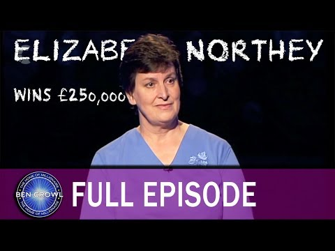 Who Wants to be a Millionaire Elizabeth Northey 10th December 2005