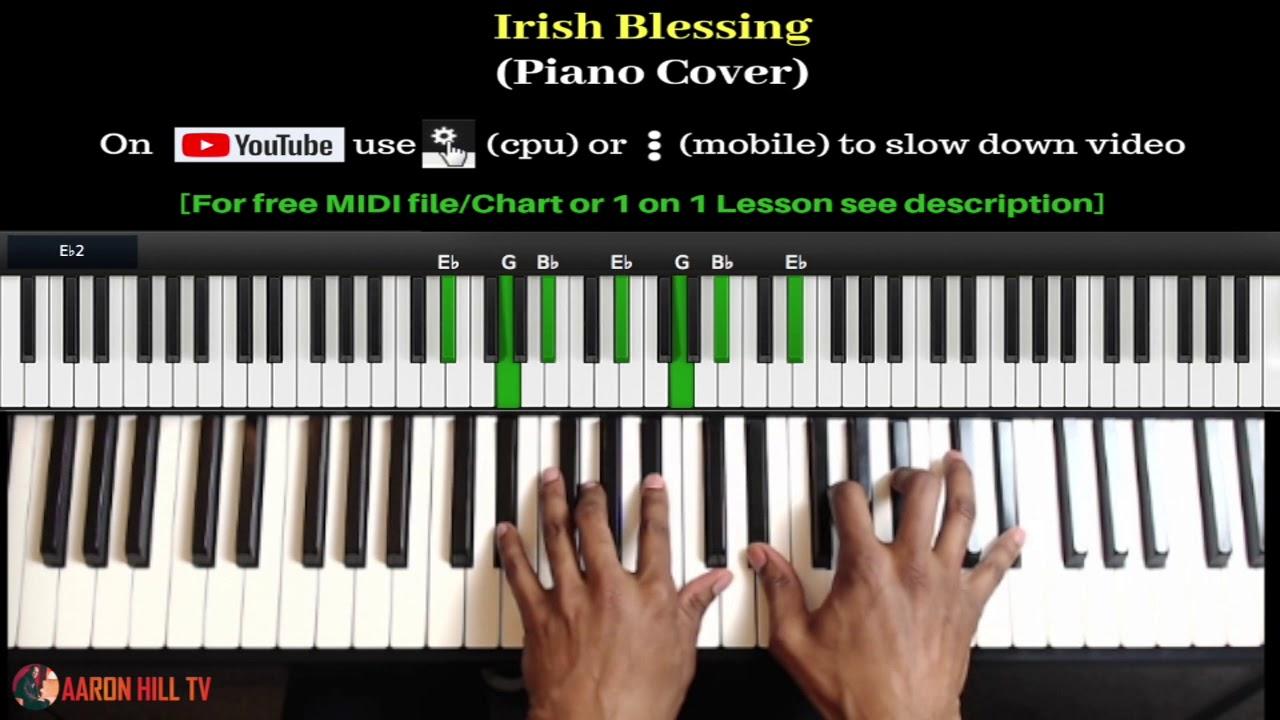 Irish Blessing (Piano Cover) [Midi File in description]
