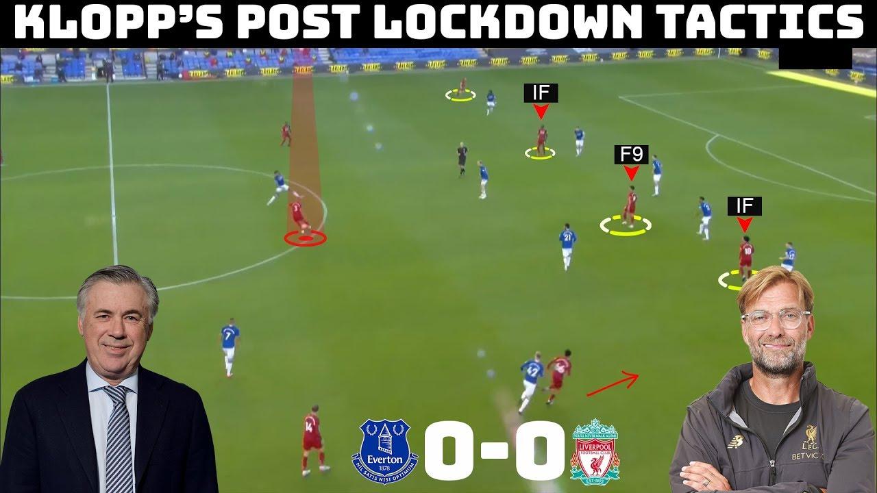 Tactical Analysis: Everton 0-0 Liverpool | How Ancelotti Nullified Klopp |