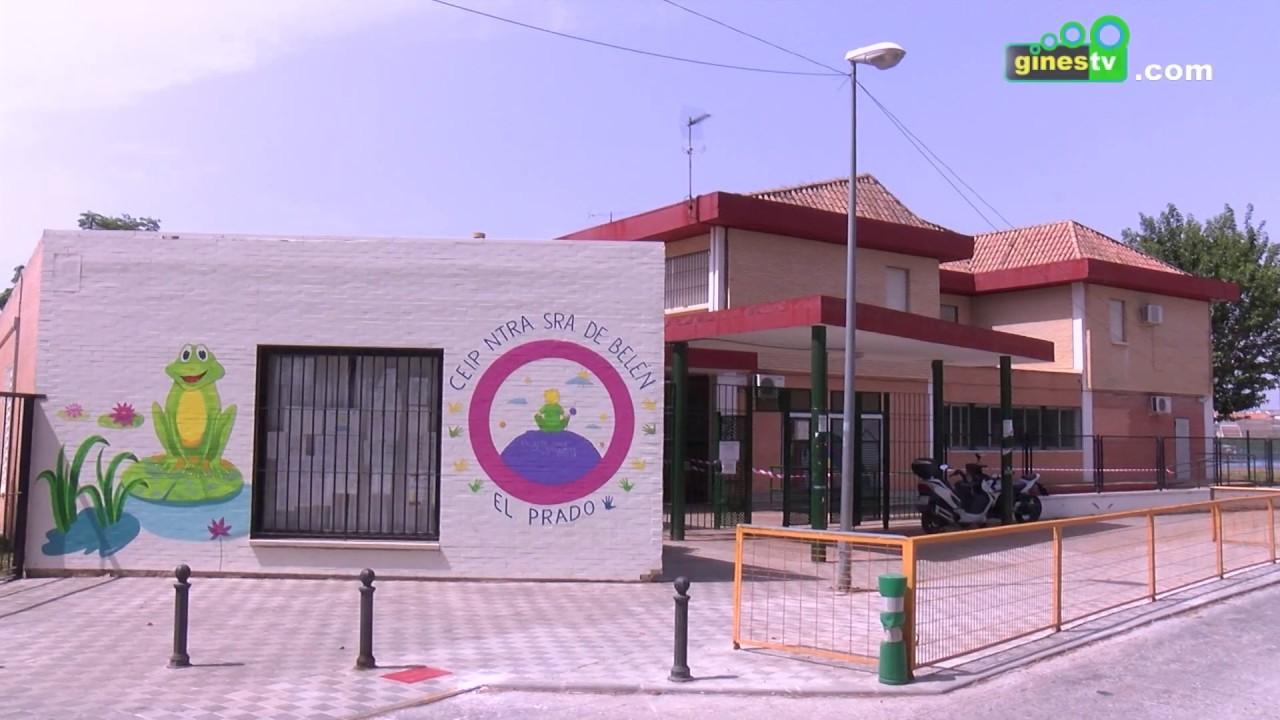 A buen ritmo las obras en la climatización de los colegios Carmen Iturbide y Ntra. Sra. de Belén