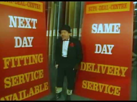 Jimmy Cricket TV advert for Paul Ayre carpets