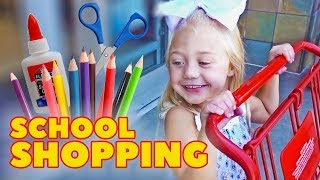 Download EVERLEIGH GOES SCHOOL SHOPPING FOR THE VERY FIRST TIME!!! Mp3 and Videos