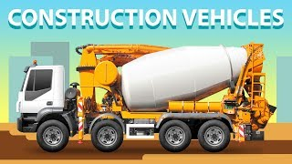 Learning Street Vehicles for Kids. Cars and Trucks. Dump truck Garbage truck Tractor Bulldozer Toys