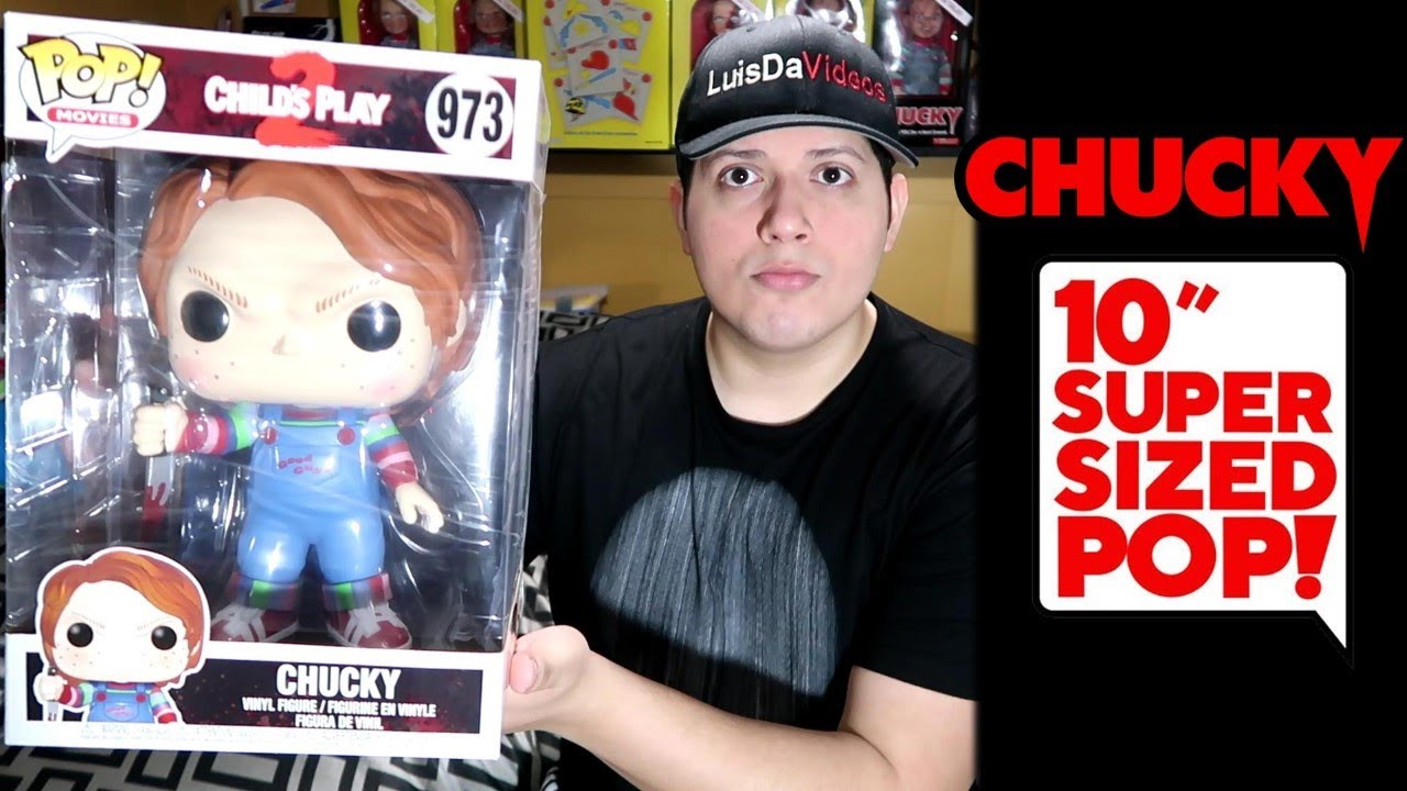 Super Sized 10 Chucky Pop Funko Pop De Chucky Gigante Youtube