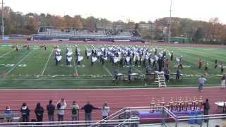 NBTHS Raiders Marching Band at Old Bridge NJ US Bands Competition, 11/02/2013