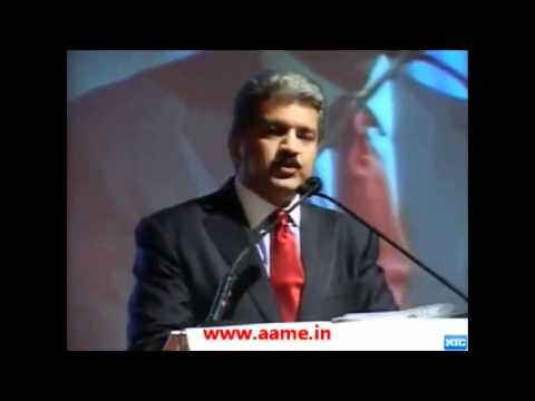 Anand Mahindra's speech at the Aero India Show in Bangalore.