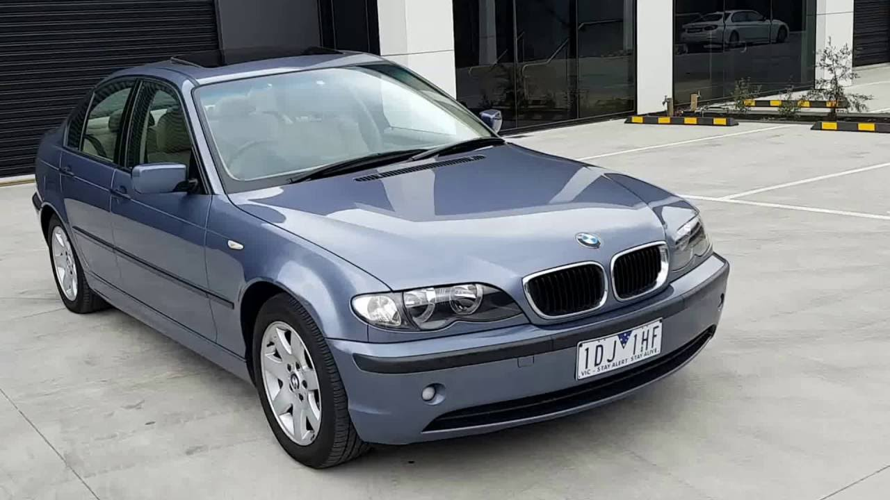 2005 bmw 318i sport e46 auto my04 youtube. Black Bedroom Furniture Sets. Home Design Ideas