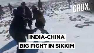 A Video Of Indian And Chinese Soldiers Fighting In Sikkim Surfaces Amid India China Military Talks