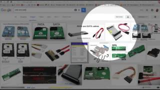 Hard Disk Drive - SATA and PATA connections