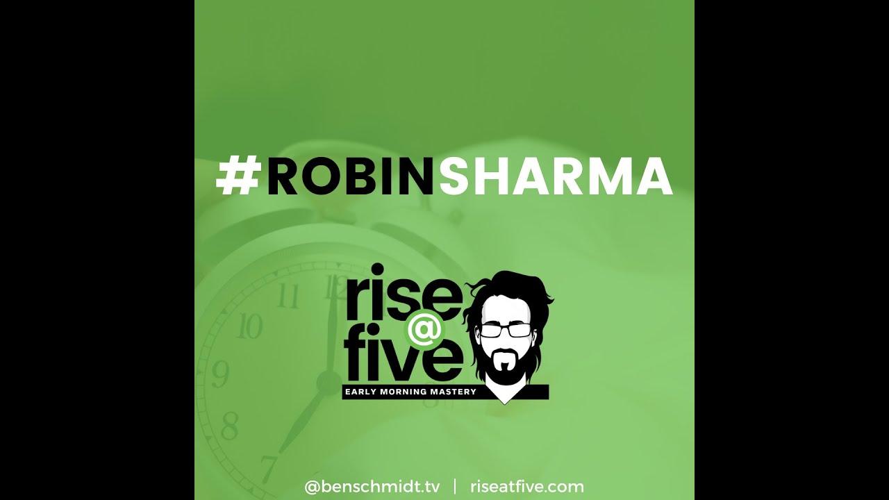 shoutout from @robinsharma #5AMCLUB