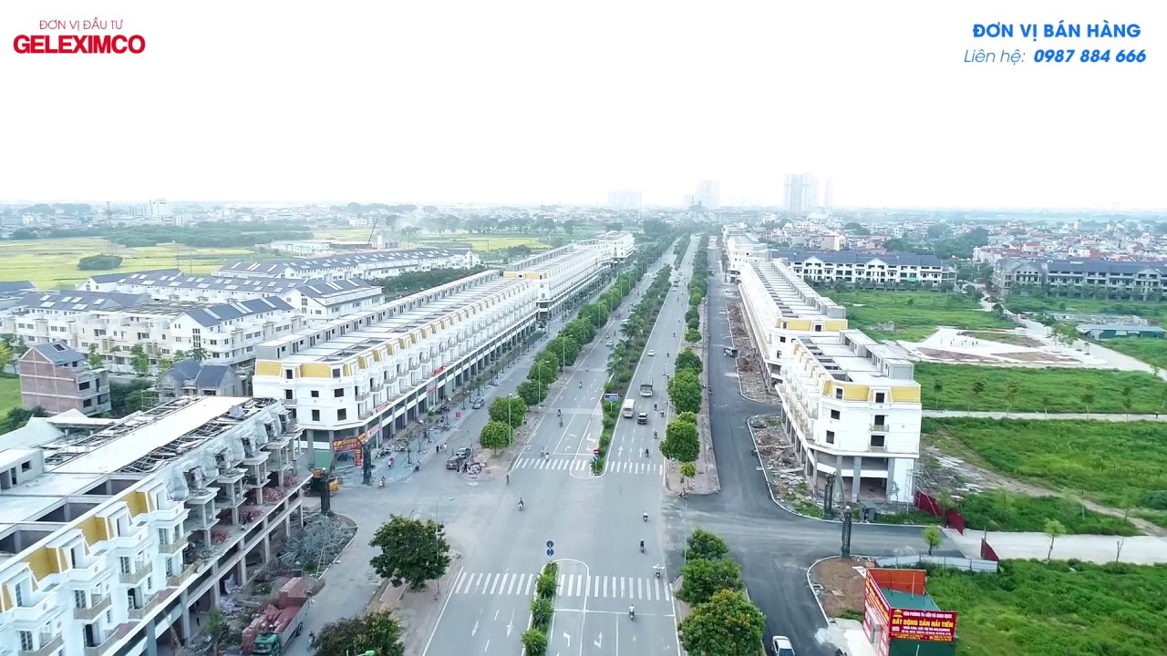 ShopHouse Lê Trọng Tấn Hà đông Geleximco – Hà Nội cảnh dự án đã Hoàn thiện