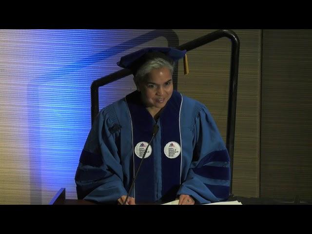 Dr. Marie Lynn Miranda Addresses 2019 Masters Graduates